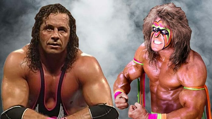 """Bret Hart didn't hold back when sharing his thoughts on the """"weakling"""" and """"phony hero,"""" Ultimate Warrior."""