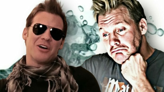 Chris Jericho: no stranger to the drink!