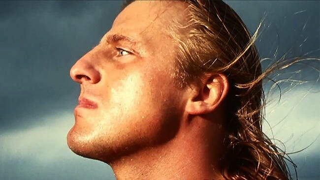 Photo of Owen Hart's facial Profile from The Ring Side View