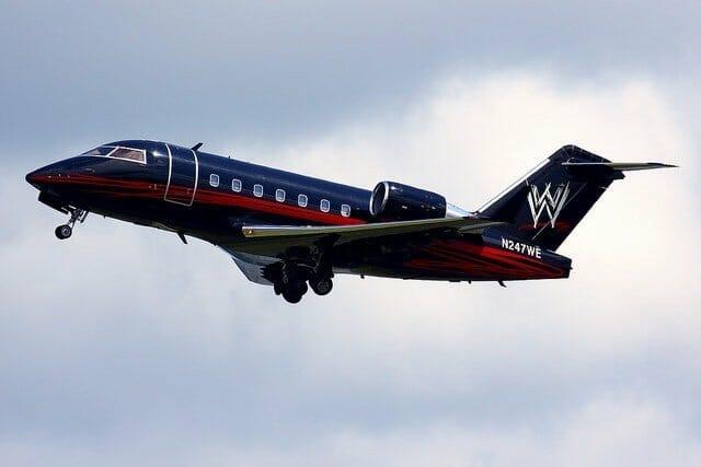 WWE's Private Plane