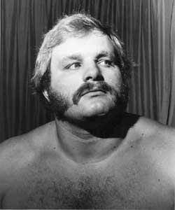 Ole Anderson, black and white wrestling headshot