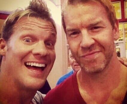Chris Jericho and Christian