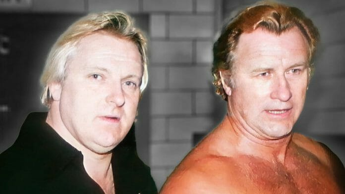 Bobby Heenan and Nick Bockwinkel in 1975. That very year, a scary incident occurred in Chicago. They were lucky to leave with their lives.