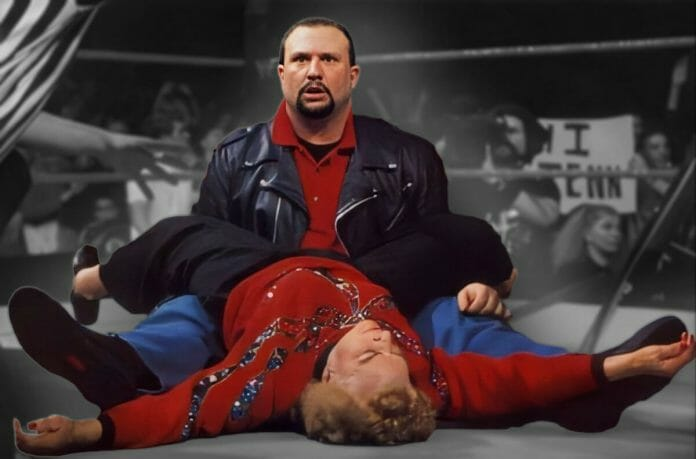Bubba Ray Dudley goes into a trance after realizing Mae Young left his bread basket with an uninvited blast!