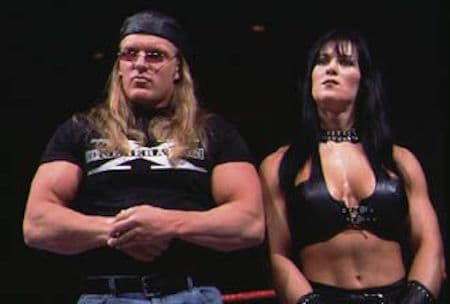 Triple H and Chyna.