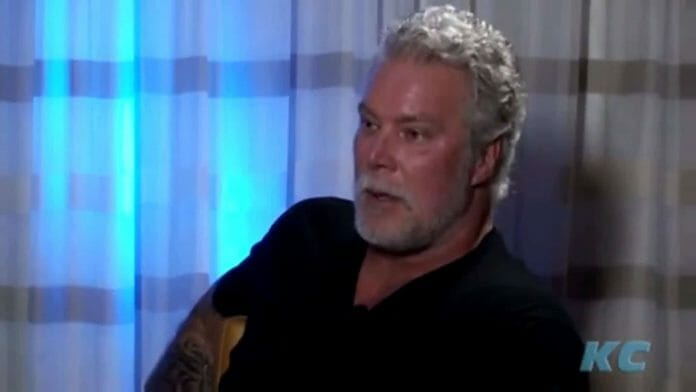 Kevin Nash being interviewed on KC
