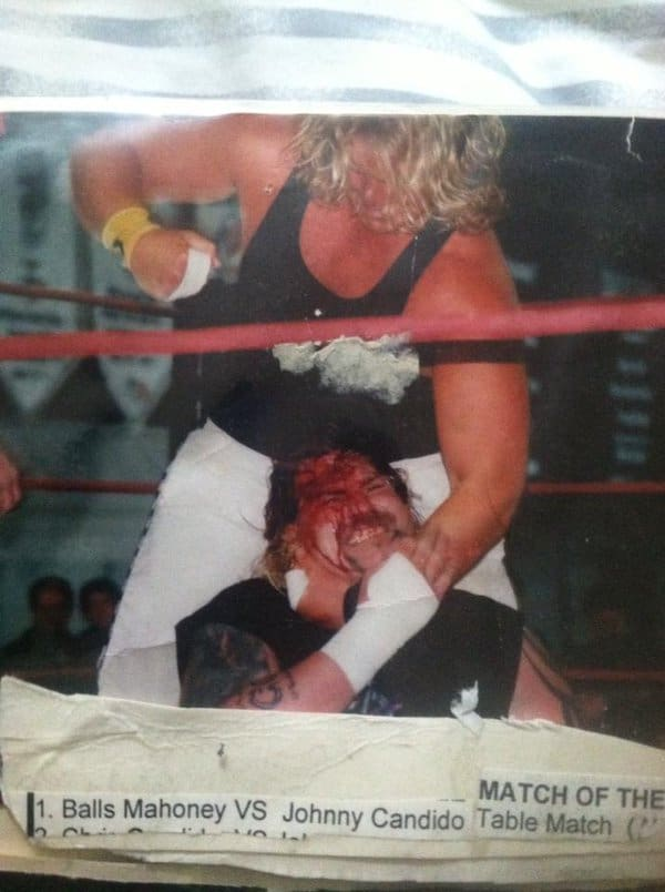 Jonny Candido and Balls Mahoney had many great matches with one another. This match won Match of the Year 2004, according to the Declaration of Independence website.