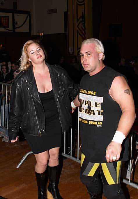 Tammy Sytch and Chris Candido back in 2003.