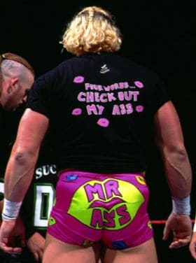 Bad Ass Billy Gunn certainly liked those trunks.