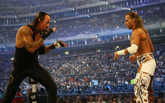 The Undertaker and Shawn Michaels square off at WrestleMania XXV in what many consider the greatest match of all time.
