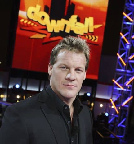 Publicity image released by ABC, TV personality and pro wrestler Chris Jericho, new host of 'Downfall