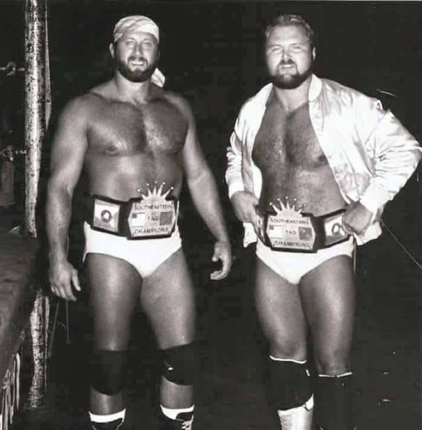 Jerry Stubbs and Arn Anderson ran the gamut in their tag team and feud before Stubbs won a loser-leaves-town match against Anderson, who went on to Jim Crockett Promotions, where he found fame as one of the Four Horsemen.