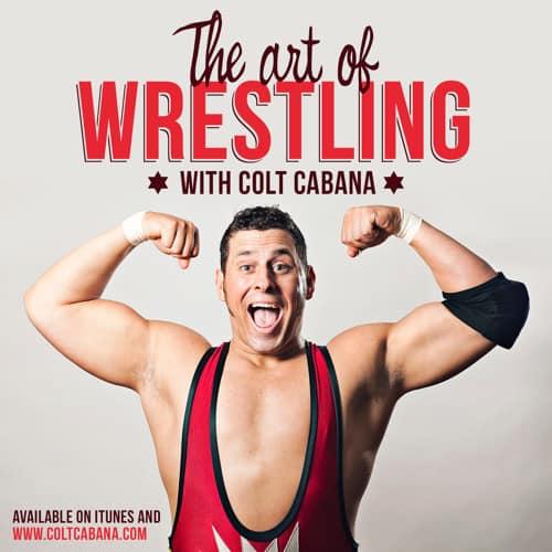 The Art of Wrestling Podcast Logo