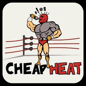 Cheap Heat Wrestling Podcast Logo