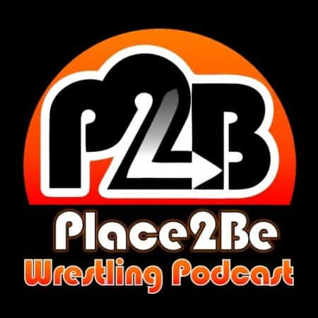 Place2Be Wrestling Podcast Logo