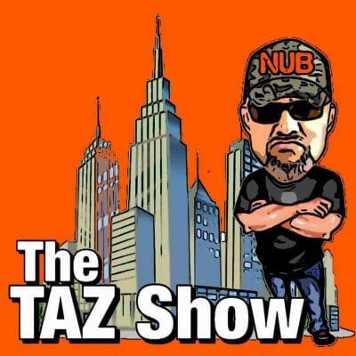 The Taz Show Wrestling Podcast Logo