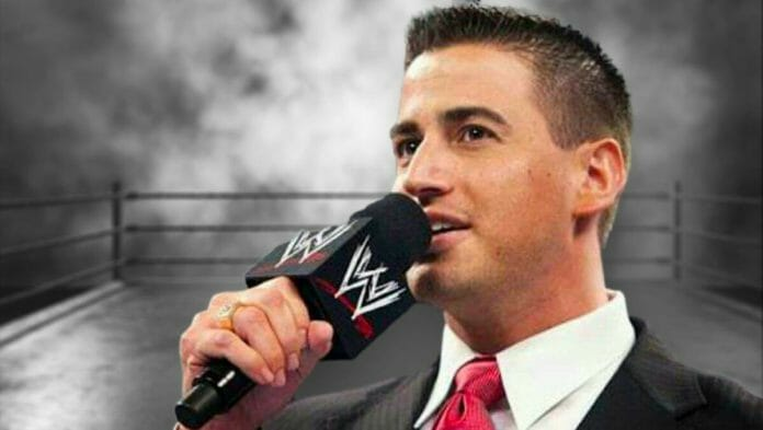 Former WWE and current AEW announcer Justin Roberts put on a welcoming face to audiences for 12 years, but no one knew what was going on behind the scenes.
