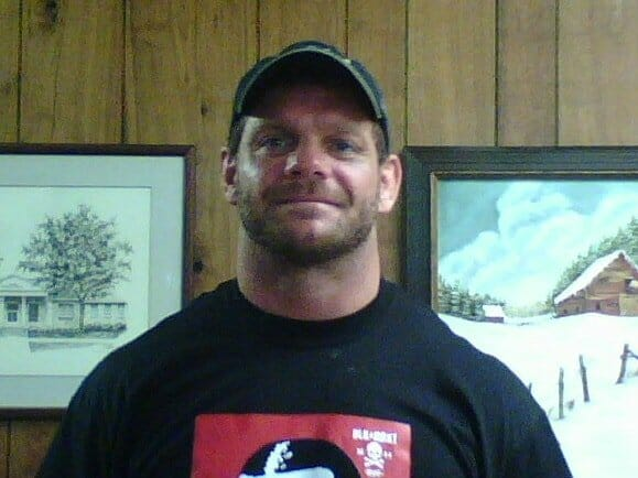 last known picture of Chris Benoit, from Friday, June 22, 2007, at the office of Dr. Phil Astin in Carrollton, Georgia.