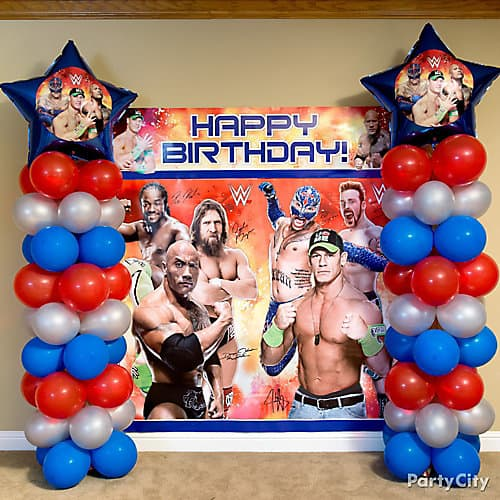 Wrestling Party Decor from Party City