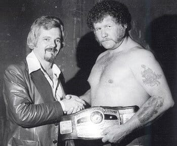 Les Thatcher and Harley Race