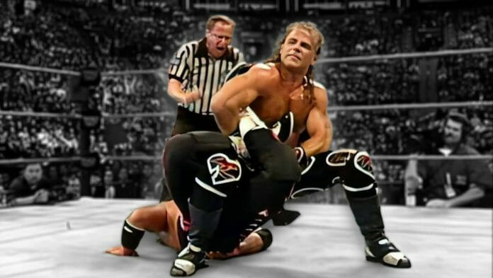 With barely 12 minutes gone in their Survivor Series 1997 match, Bret Hart found himself caught in his own finishing hold -- and then in the most talked about wrestling conspiracy of the 20th century.