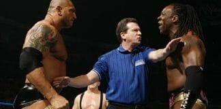 Batista and Booker T - Their Real-Life Fight Over Wrestlers' Court
