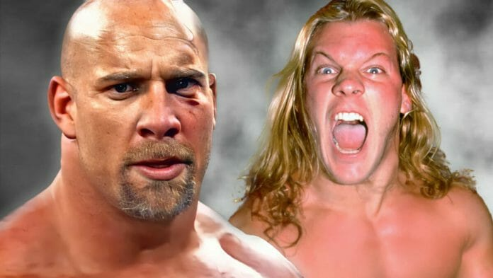 Goldberg and Chris Jericho had a long history of not seeing eye to eye. When Goldberg made his way to WWE in 2003, things did not go well.