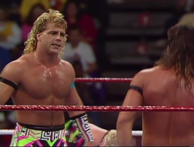 Shawn Michaels in the ring at Survivor Series, 1991