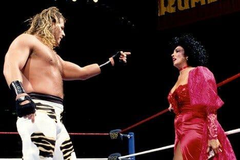Shawn Michaels and Sensational Sherri in 1994