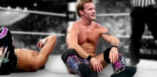 Chris Jericho pondering the meaning of life mid-match against Fandango at Wrestlemania 29.
