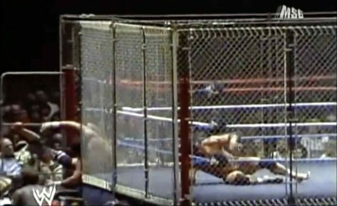 "If the finish of Brock Lesnar-Roman Reigns inside a steel cage at the Greatest Royal Rumble looked familiar, it's because Don Muraco and Jimmy ""Superfly"" Snuka did a variation of it in 1983."