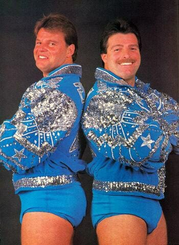 The Fabulous Rougeau Brothers, Jacque and Raymond Rougeau.