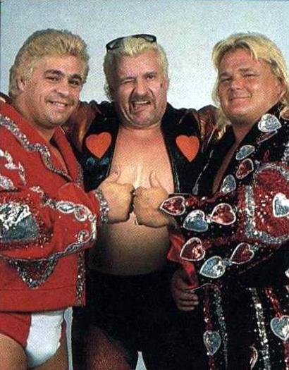 The New Dream Team Tag Team (as Dino Bravo and Greg 'The Hammer' Valentine)
