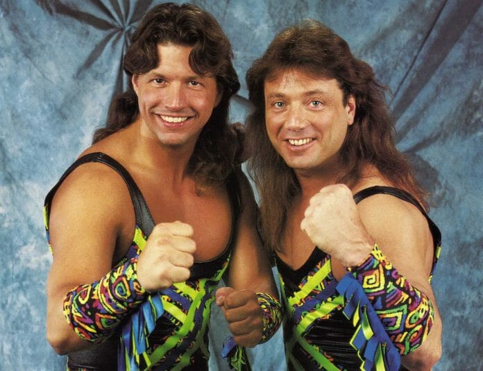'The New Rockers' - Leif Cassidy (aka Al Snow) and Marty Jannetty