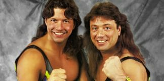 """The """"New"""" Rockers: Al Snow (then known as Leif Cassidy) with Marty Jannetty."""