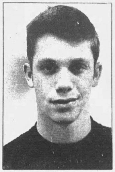 A high school picture of Randy Poffo from the Chicago Tribune (Sunday, June 18, 1970 edition)