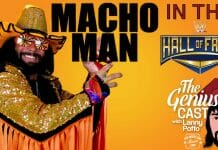 Macho Man in the WWE Hall of Fame - The Genius Cast with Lanny Poffo