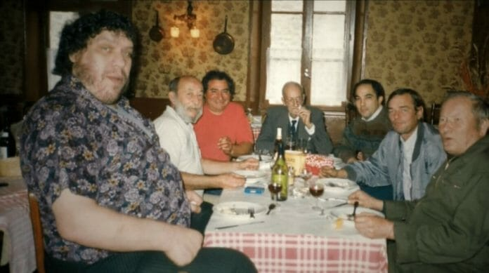 Andre the Giant Documentary | 12 Things Learned (And Facts Left Out!) - Andre the Giant flew home to be with friends and family in his hometown of Molien, France for his father's funeral. This is one of the last photos ever taken of Andre, only hours before his death.