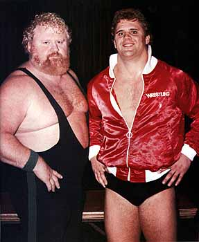 Curt Hennig and his father Larry 'The Ax' Hennig