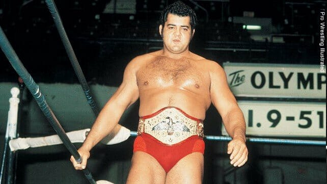 Former champ, Pedro Morales.