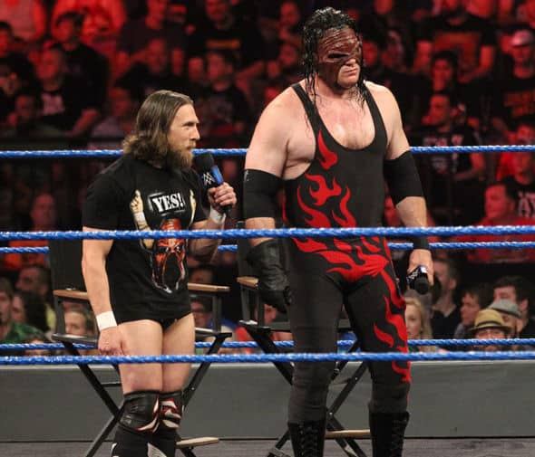 Kane is back in the mask in 2018, with prominent red flames once again crawling up his black one-piece costume. A culmination of everything he has been for the last 21 years, and a fitting guise for what may be his final look.