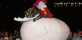 """The Gobbledy Gooker debuts at Survivor Series 1990. """"That was (not) awesome!"""" (clap clap clapclapclap)"""