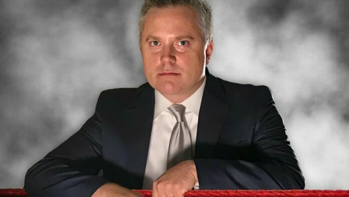 You've seen his face and heard his voice; now you can learn more about Sean Oliver: the man behind many of your favorite wrestling interviews.