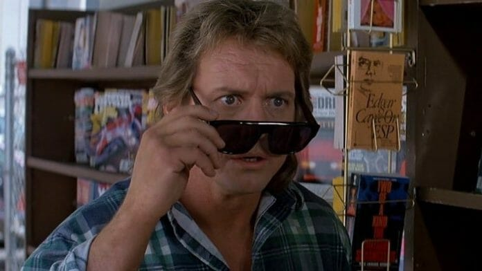 Roddy Piper in John Carptener's movie They Live