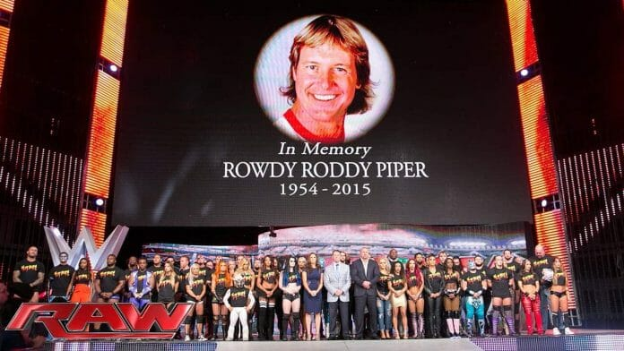 In memory of Rowdy Roddy Piper 1954-2015