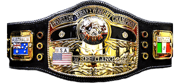 "The prestigious ""Ten Pounds of Gold"" - NWA World Heavyweight Championship, currently held by Nick Aldis"