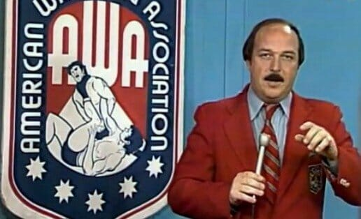 Mean Gene Okerlund during his AWA days