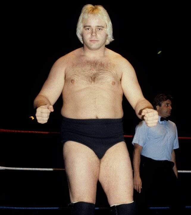 Playboy Buddy Rose (pictured in a younger photo bare-chested in the ring with black trunks on) on his opinion of the WWE Hall of Fame