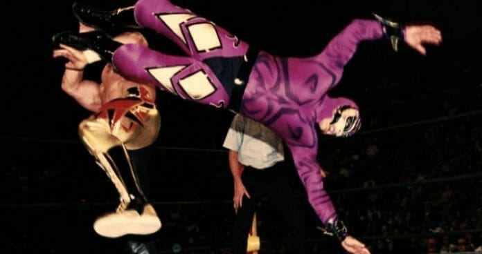 Rey Mysterio as The Phantom against Eddie Guerrero, Halloween Havoc, 1997