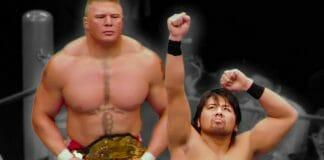 Brock Lesnar and Shinsuke Nakamura - Their Bitter Real-Life Battle